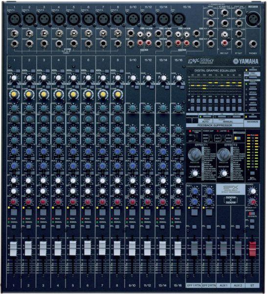 AlphaPlan-Artikel: Yamaha EMX 5016 CF - Powermixer