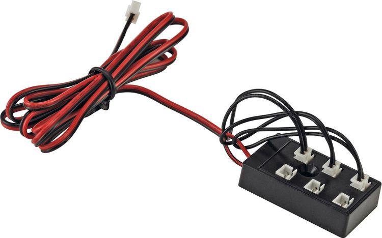 SLV Steckerset für LED Artikel 6fach mit drei Brücken