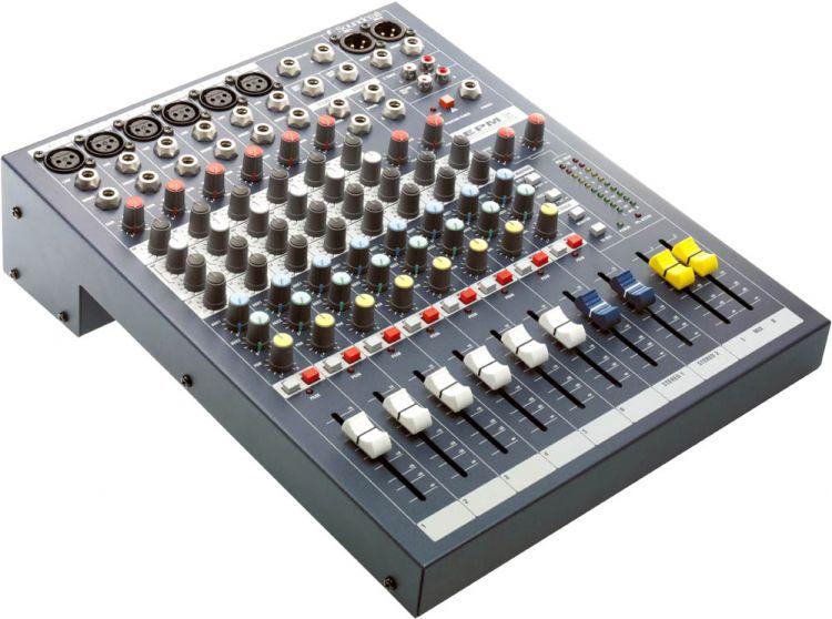 AlphaPlan-Artikel: Soundcraft EPM 6 - Kompaktes Mischpult