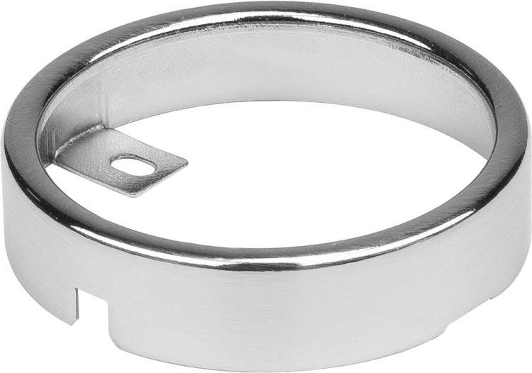 SLV MONTAGERAHMEN für DL 126 Einbauleuchte, rund, metall gebürstet