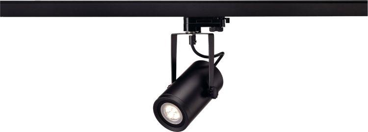 AlphaPlan-Artikel: SLV EURO SPOT INTEGRATED LED, 3000K, 15°, inkl. 3P.-Adapter, schwarz