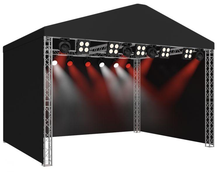 Satteldach-Bühne SR08 - 9,00 x 6,00  x 4,71 m (BxLxH)