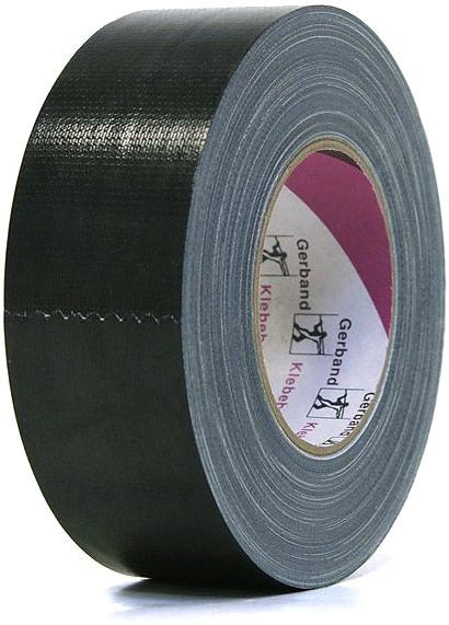 AlphaPlan-Artikel: Gaffer Tape Gerband 250 schwarz Topqualität