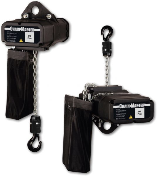 ChainMaster RiggingLift D8Plus, 1000kg, 2m/min, Hubhöhe: 18m, 2-strängig