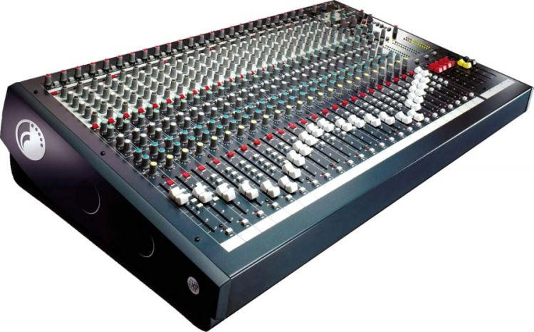 Soundcraft LX7 II 16 - Mischpult mit 16 Kanal-Direktausgängen