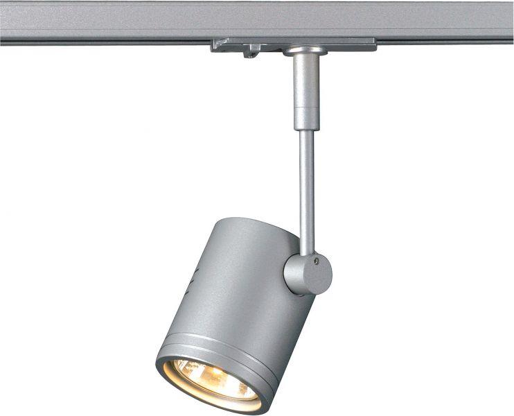 AlphaPlan-Artikel: SLV BIMA I Leuchtenkopf für 1-Phasen Schiene, silbergrau