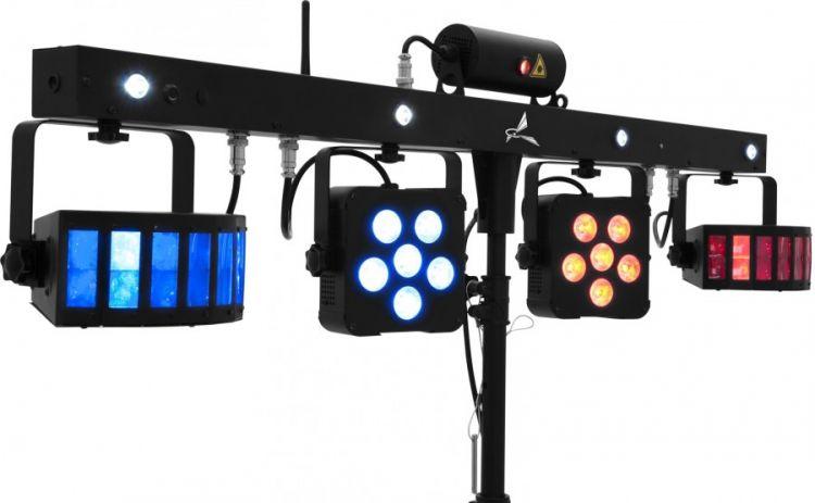 AlphaPlan-Artikel: EUROLITE LED KLS Laser Bar PRO FX-Lichtset