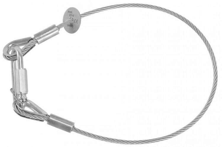 Riggatec Sicherungsseil, Safety 100cm x 3 mm bis 9 kg