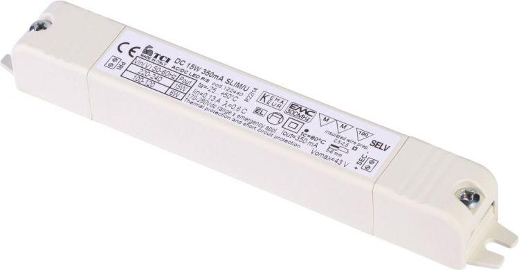 SLV LED-Treiber 15W, 350mA, inkl. Zugentlastung