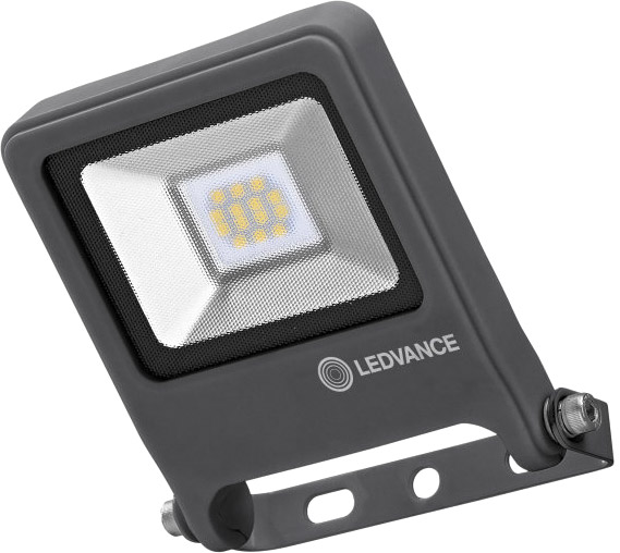 LEDVANCE FLOODLIGHT 10 W//3000 K IP65 weiß ohne Stecker