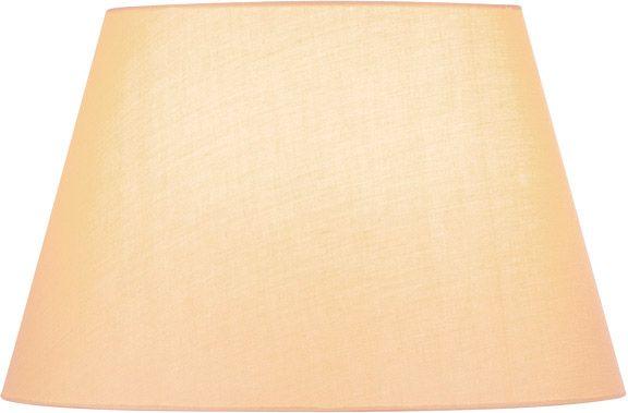 SLV FENDA Leuchtenschirm, konisch, beige, Ø/H 45,5/28 cm