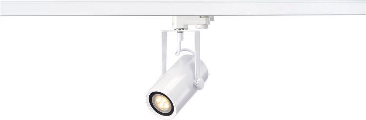 AlphaPlan-Artikel: SLV EURO SPOT INTEGRATED LED, 2700K, 15°, inkl. 3P.-Adapter, weiss