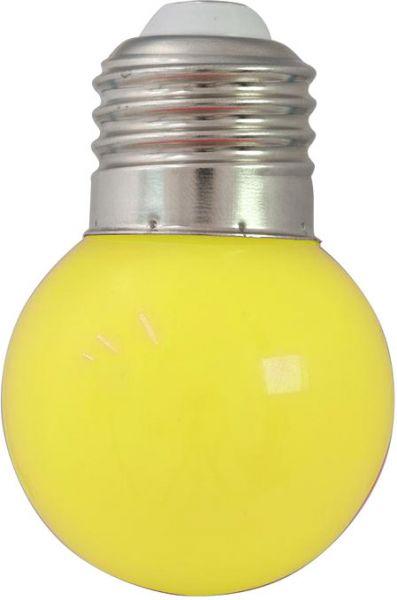 AlphaPlan-Artikel: OMNILUX LED G45 230V 1W E-27 gelb