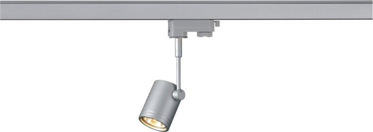 AlphaPlan-Artikel: SLV BIMA I Leuchtenkopf für 3-Phasen Schiene, silbergrau