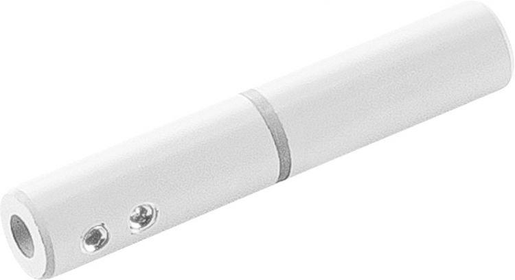 SLV ISOLIERVERBINDER für TENSEO Niedervolt-Seilsystem, weiß, 2 Stück