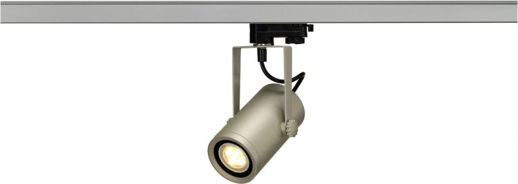 AlphaPlan-Artikel: SLV EURO SPOT INTEGRATED LED, 2700K, 15°, inkl. 3P.-Adapter, silberg