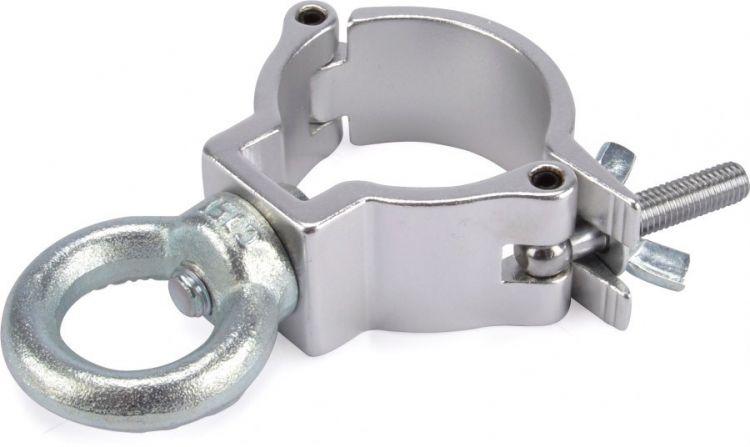 AlphaPlan-Artikel: Riggatec Halbschelle - Halfcoupler silber mit Öse bis 100 kg (48-51mm)