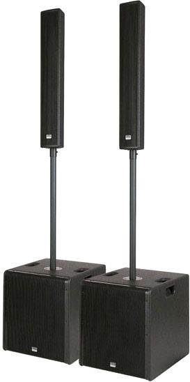 "AlphaPlan-Artikel: Live Mini 12"" Column active speaker system"