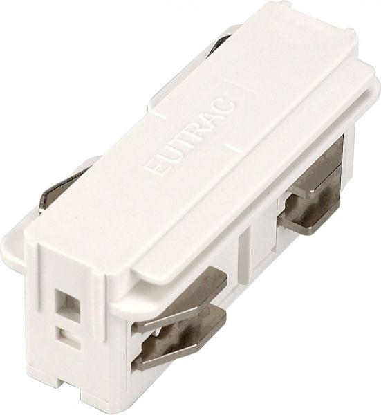Eutrac 3 Phasen Längsverbinder, elektrisch, weiß