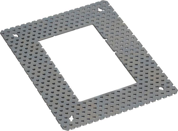 SLV Einbaurahmen für DOWNUNDER PUR eckig, 80x120mm