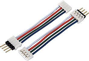 SLV Verbinder für RGB LED-Strips 5cm, 10 Stk.