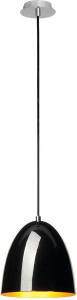 AlphaPlan-Artikel: SLV PARA CONE 20 Pendelleuchte, rund, schwarz/gold, E27 max. 60W