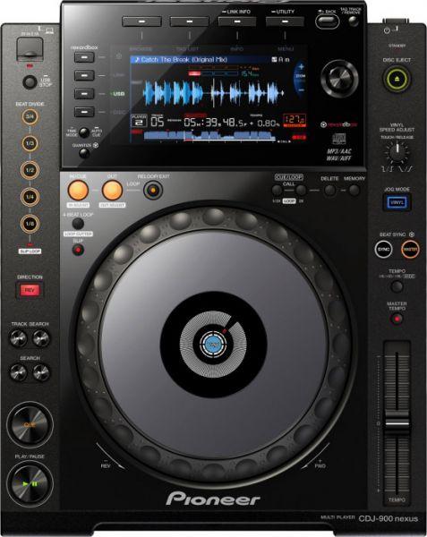 Pioneer DJ CDJ 900 NXS Professioneller digitaler DJ-Player