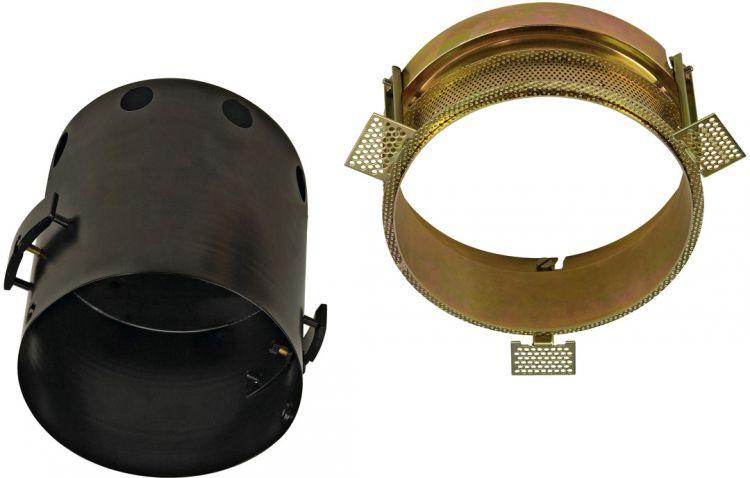 SLV AIXLIGHT PRO I FRAMELESS ROUND Einbaugehäuse, inkl. Einbau-Kit,