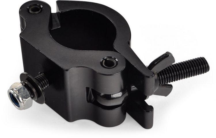 AlphaPlan-Artikel: Riggatec Halbschelle - Halfcoupler breit schwarz bis 500 kg (48 - 51 mm)