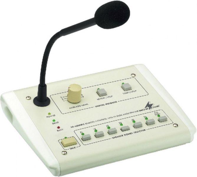 MONACOR PA-6000RC ELA-Tischmikrofon