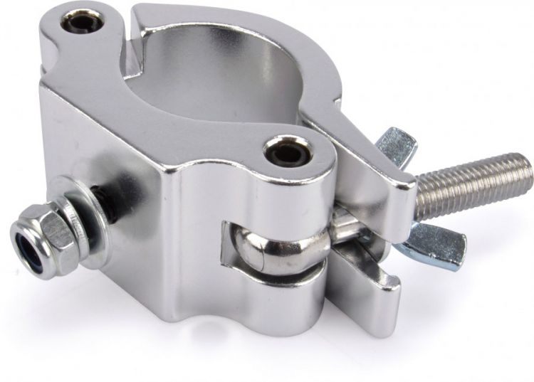 AlphaPlan-Artikel: Riggatec Halbschelle - Halfcoupler breit silber bis 500 kg (48 - 51 mm)