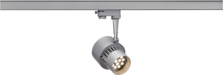 AlphaPlan-Artikel: SLV LED TRACKSPOT, silbergrau, 12x1W, warmweiss, 30°, inkl. 3P.-Adap