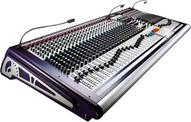 AlphaPlan-Artikel: Soundcraft GB4 32+2 - Mischpult mit 15 Ausspielwegen
