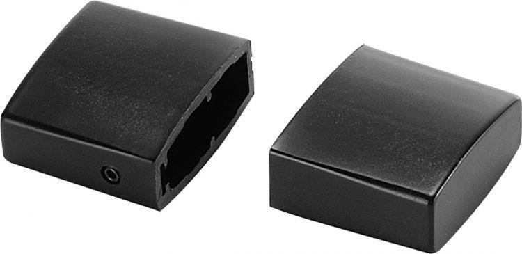SLV ENDKAPPEN für Hochvolt-Stromschiene EASYTEC II, 2 Stück, schwarz