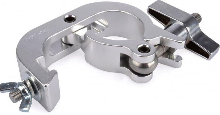AlphaPlan-Artikel: Riggatec Halbschellenhaken - Trigger Clamp silber bis 250 kg (48 - 51 mm)