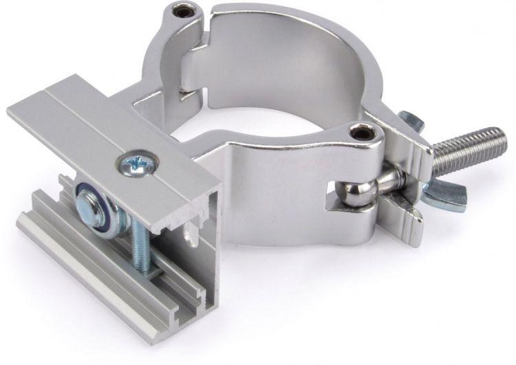 AlphaPlan-Artikel: Riggatec Halbschelle für Eutrac 3-Phasenschiene mit Clip (48 - 51 mm)