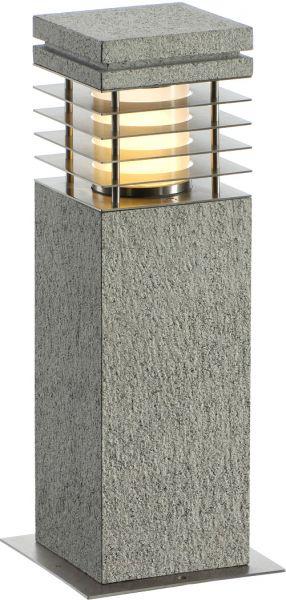 AlphaPlan-Artikel: SLV ARROCK GRANITE 40 Stehleuchte, Granit, salt & pepper, E27, max.