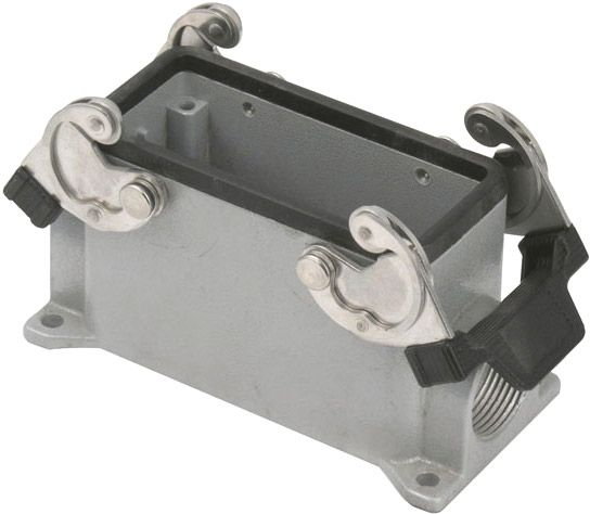 16/72 Pole Chassis Closed Bottom/Clips PG21 Grey