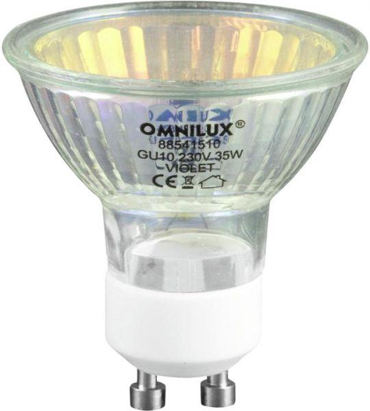 AlphaPlan-Artikel: OMNILUX GU-10 230V/35W 1500h violett