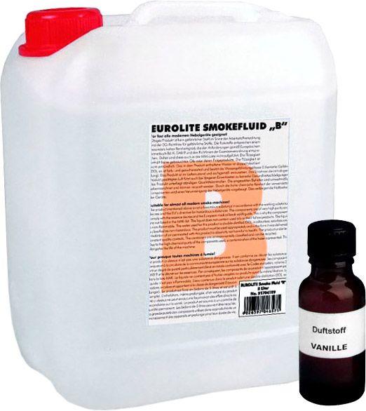 AlphaPlan-Artikel: Eurolite Set Smoke Fluid -B- Basic 5l + Nebelfluid-Duftstoff 20ml