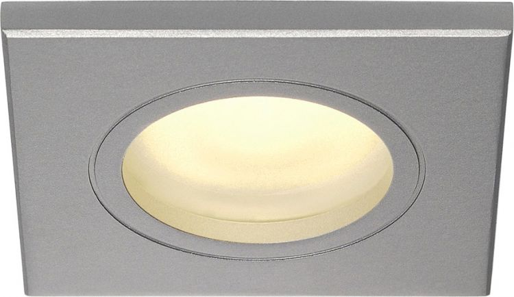 AlphaPlan-Artikel: SLV FGL OUTDOOR SQUARE, GU10, silbergrau