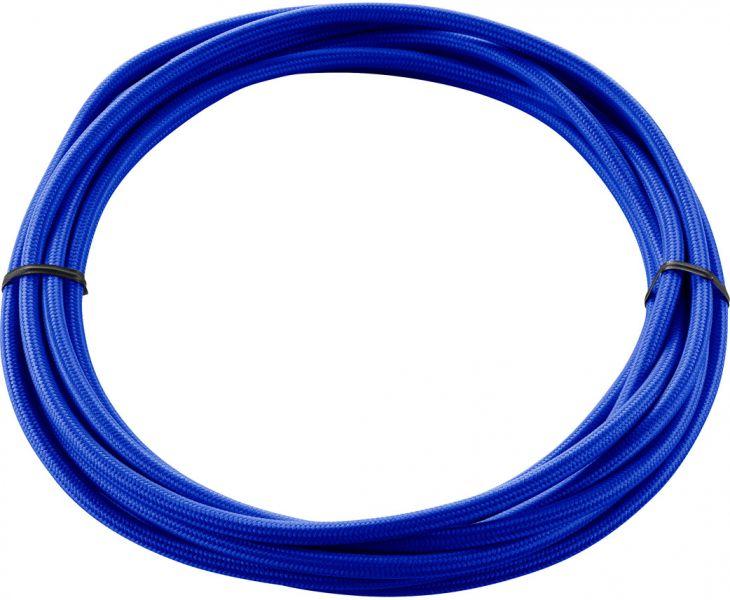 SLV TEXTILKABEL 3-polig, 5 m, blau