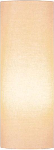 SLV FENDA Leuchtenschirm, rund, beige, Ø/H 15/40 cm