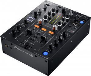 DJ mixer consoles