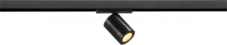 SLV M-TRACK Spot für Niedervolt-Stromschiene, LED, schwarz, 3,7W