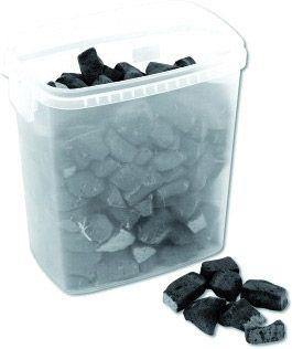 EUROPALMS Schaumglassteine, schwarz