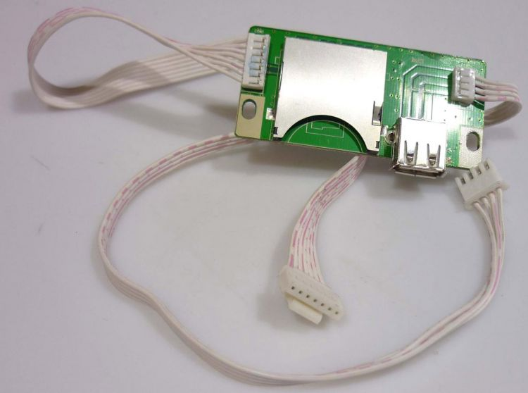AlphaPlan-Artikel: Platine (SD/USB-Slot) XDP (E337240)