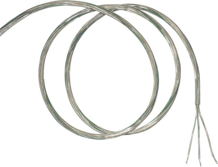 SLV Transparentes Kabel, 3x0,75, 10m mit gelben und grüner Ader