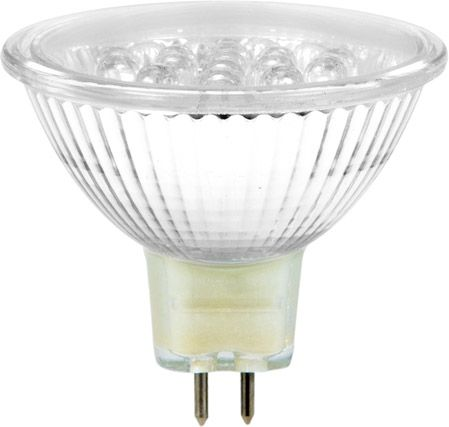 OMNILUX MR-16 12V GX-5,3 18 LED gelb + C