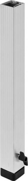 Bullstage Teleskopfuß vierkant 60x60mm - Höhe 80 bis 140 cm